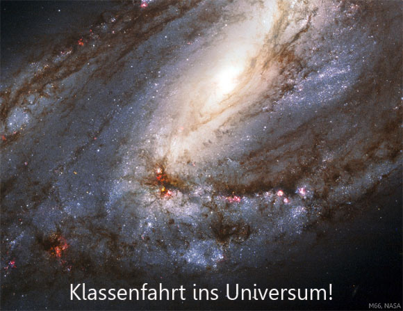 Klassenfahrt ins Universum!