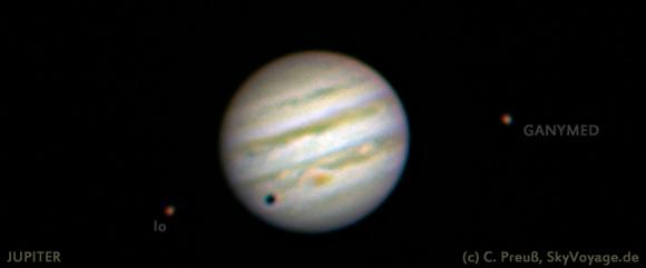 Jupiter, (c) C. Preuss