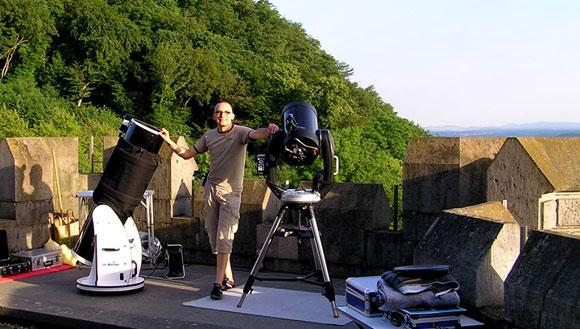 Sky Voyage Astrotainment auf Schloss Drachenburg, (c) C. Preuss
