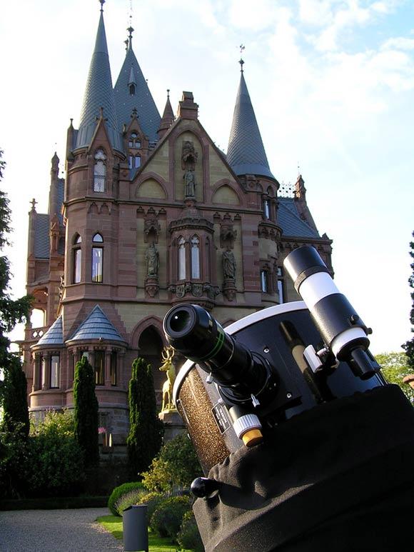 Sky Voyage Astrotainment auf Schloss Drachenburg, (c) C. Preuß