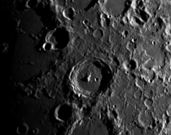 Der Mond am 9. März 2014, (c) C. Preuß