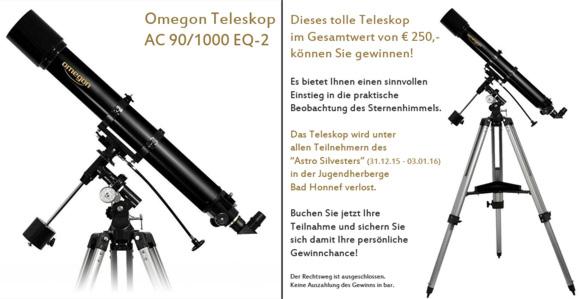 Gewinnchance auf ein Teleskop, Sky Voyage, Christian Preuß